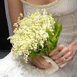 Стоит ли покупать букет из ландышей на свадьбу оригинальный подарок подруге на 14 февраля