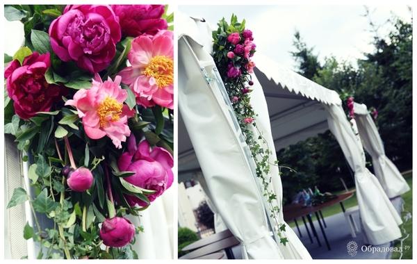 Пионовая свадьба - фото 1