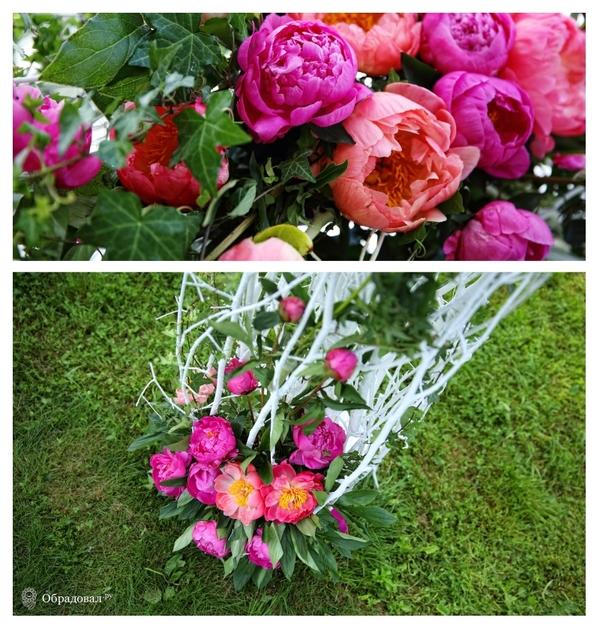 Пионовая свадьба - фото 5