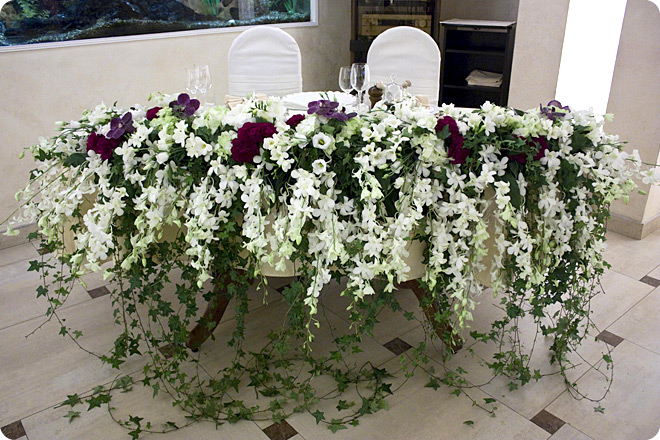 Украшение зала на свадьбу цены